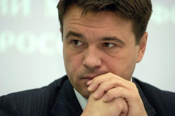 Член президиума генерального совета Единой России А. Воробьев