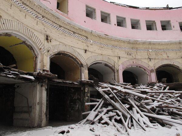 Круговое депо Николаевской железной дороги