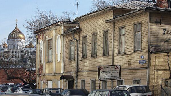 Дом Ф.И. Шаляпина в 3-м Зачатьевском переулке