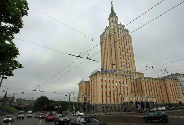 Отель Хилтон Москоу Ленинградская