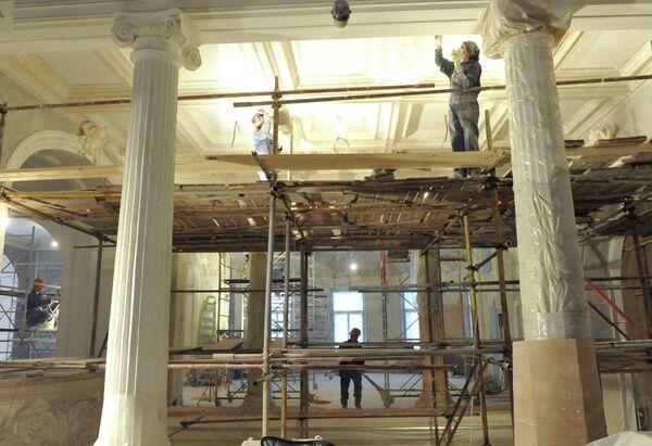 Реставрация Большого зала Московской консерватории