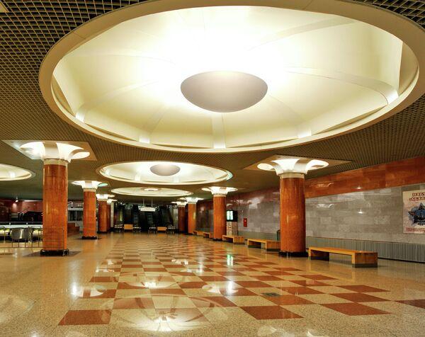 Проект станции метро «Парк победы»