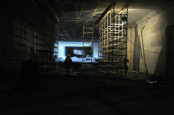 Строительство Алабяно-Балтийского тоннеля