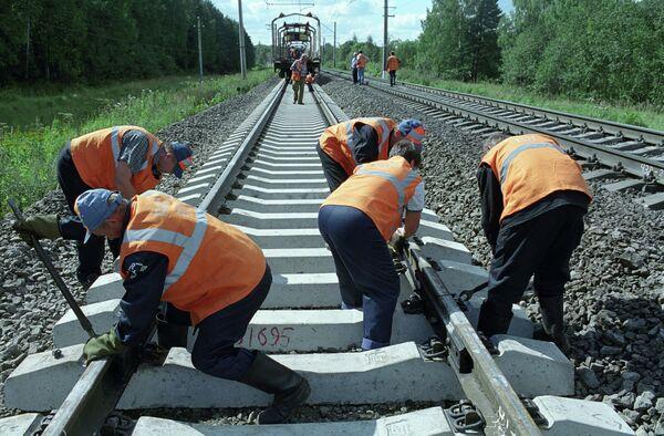 Летние путевые работы на Московской железной дороге