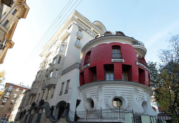 Жилой дом на улице Машкова в Москве