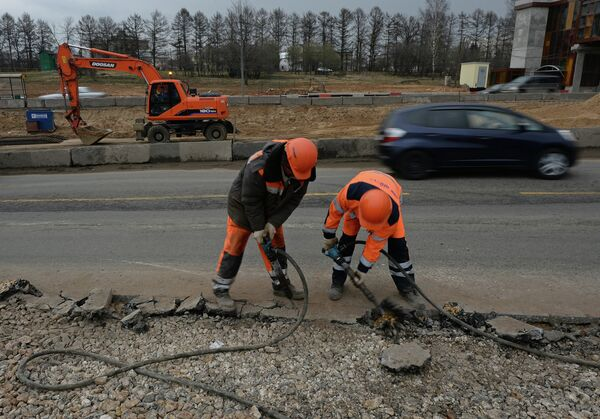 Реконструкция дороги
