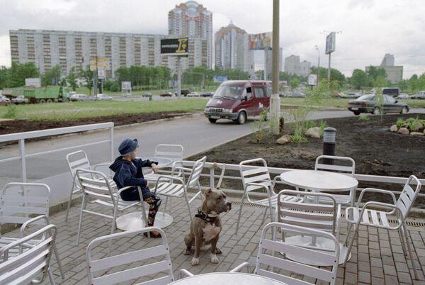 Летнее кафе в Москве