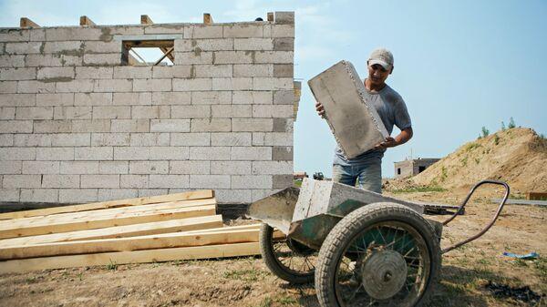 Cтроительство домов для пострадавших от паводка в Амурской области