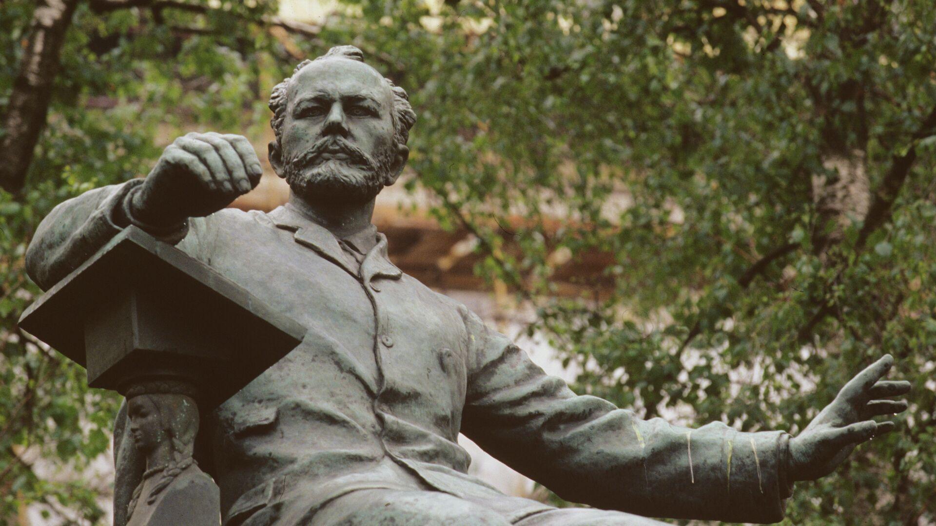 Памятник композитору П.И. Чайковскому в Москве - РИА Новости, 1920, 09.08.2019