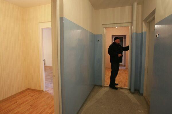 Вручение ключей от новых квартир