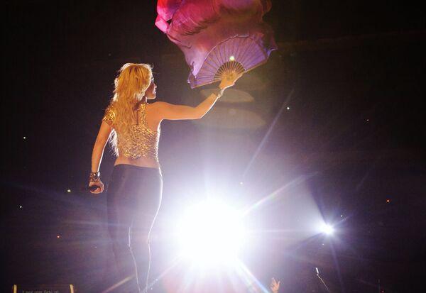 Концерт певицы Шакиры в СК Олимпийский в Москве