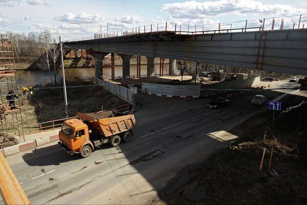 Строительство скоростной автодороги Москва - Санкт-Петербург