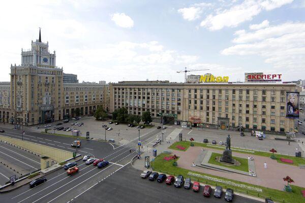 Вид на Триумфальную площадь