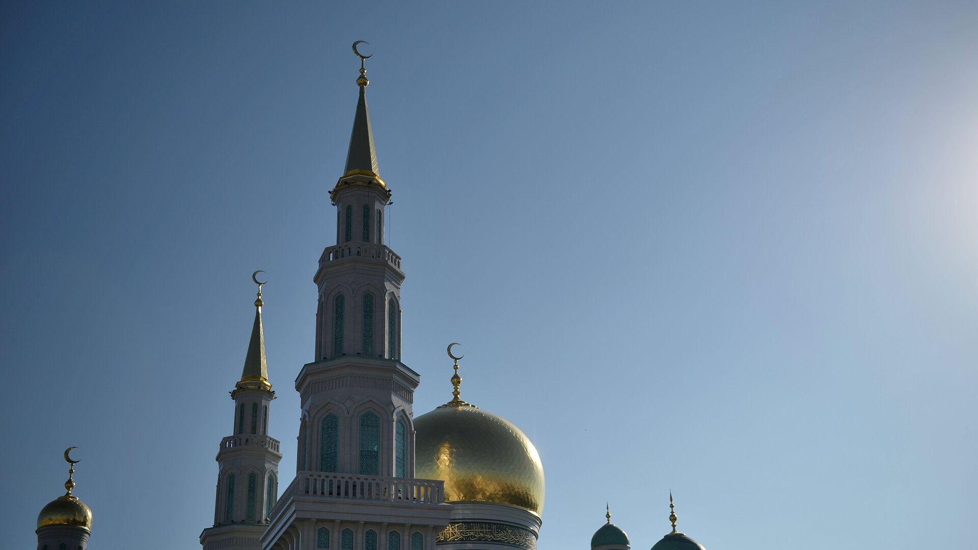 Открытие после реставрации главной мечети Москвы - РИА Новости, 1920, 30.10.2020