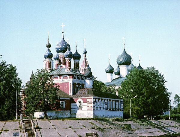 Церковь Дмитрия на крови в Угличе