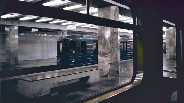 Вестибюль станции Полежаевская Московского метрополитена