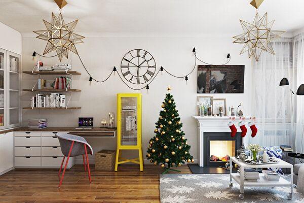 Как сделать новогодний декор для дома своими руками: 3 мастер-класса
