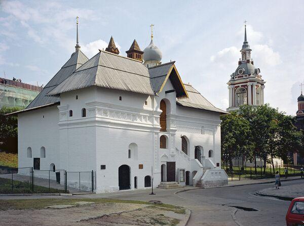 Палаты Старого английского двора XVI-XVII