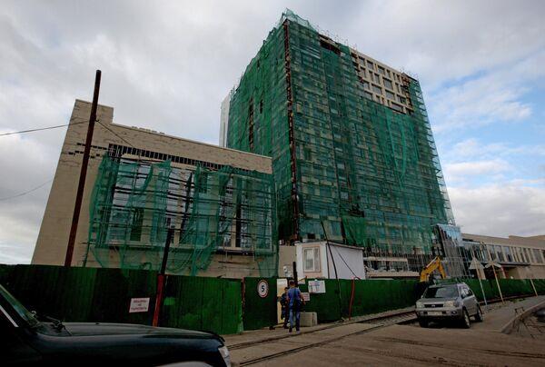 Строительство объектов в рамках подготовки к саммиту АТЭС-2012