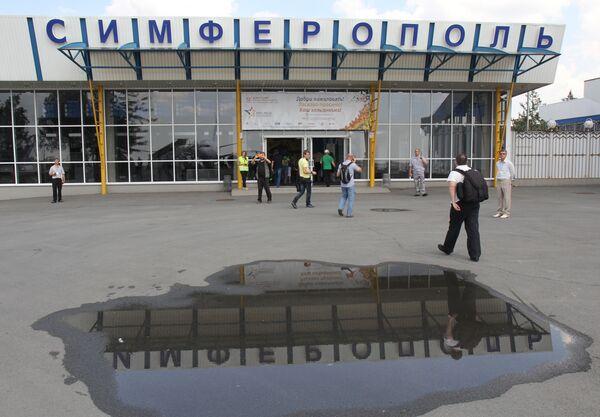 Самолет авиакомпании Добролет совершил посадку в Симферополе