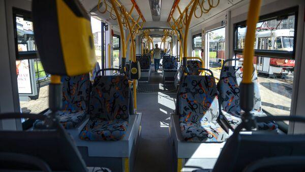 Первый рейс трамвая нового поколения в Москве