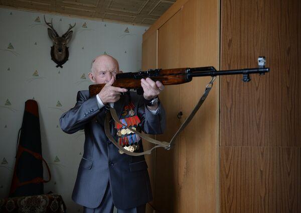 Ветеран Великой Отечественной войны Михаил Григорьевич Чернышов
