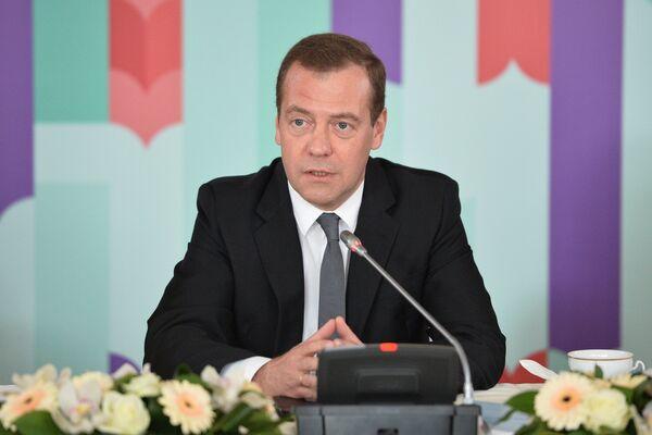 Премьер-министр РФ Д. Медведев