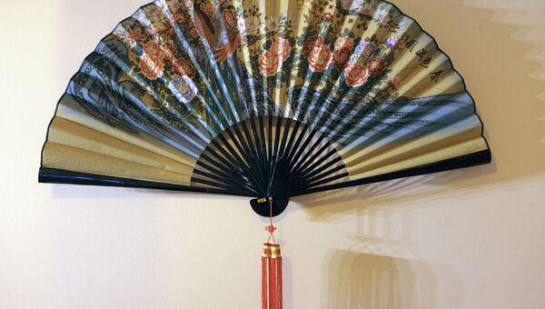 Выставка Китайские веера и зонтики Ханчжоу