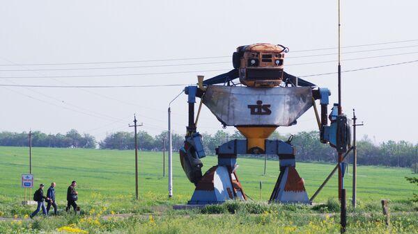Гигантский робот-трансформер