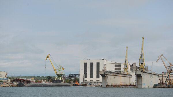 Судостроительный комплекс Звезда во Владивостоке