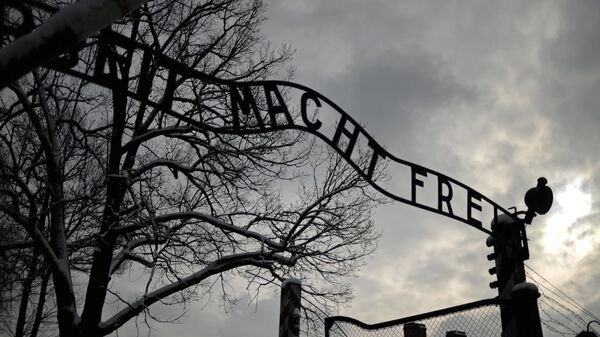 Концентрационный лагерь Аушвиц-Биркенау в Освенциме в Польше