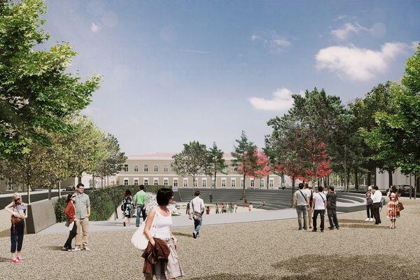 Проект благоустройства Хохловской площади в Москве