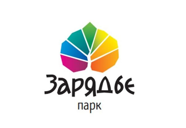 Логотип парка «Зарядье»