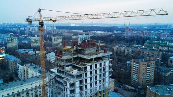Строительство жилья в Москве