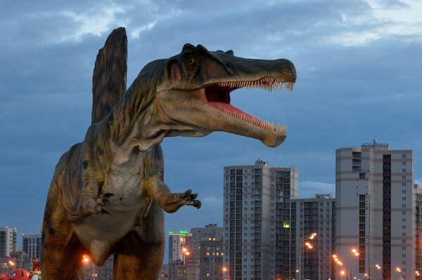 Фигура спинозавра
