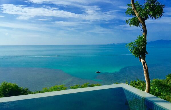 Бассейны отеля Four Seasons Koh Samui на острове Самуи