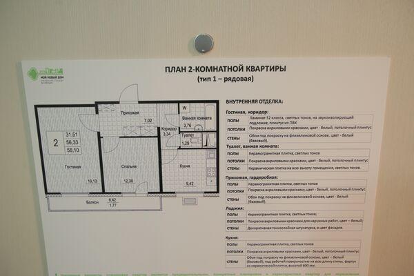 Шоу-рум квартир для реновации. Планировка квартиры