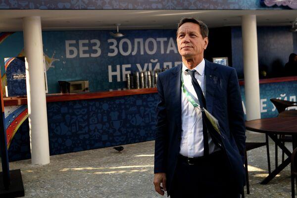 Президент ОКР Александр Жуков на церемонии открытия дома болельщиков олимпийской сборной России в Рио-де-Жанейро