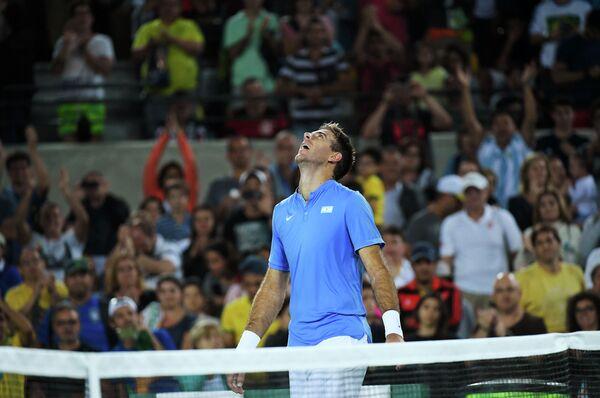 Аргентинский теннисист Хуан Мартин Дель Потро