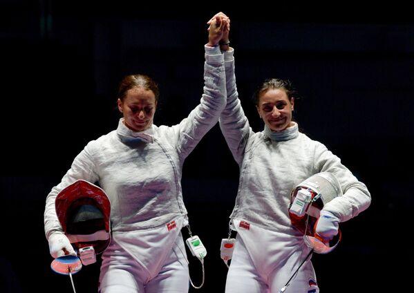 Софья Великая (слева) и Яна Егорян