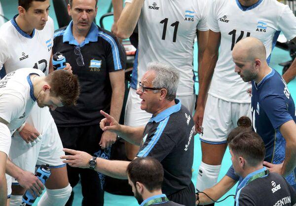 Главный тренер мужской сборной Аргентины по волейболу Хулио Веласко
