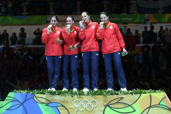 Женская сборная Румынии по фехтованию на шпагах