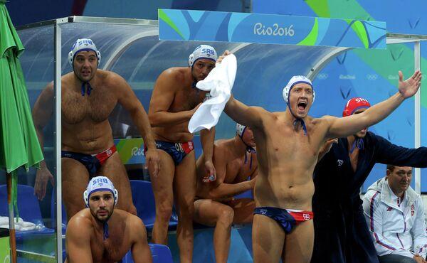 Игроки сборной Сербии по водному поло