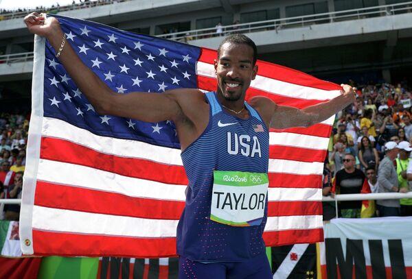 Американский легкоатлет Кристиан Тейлор