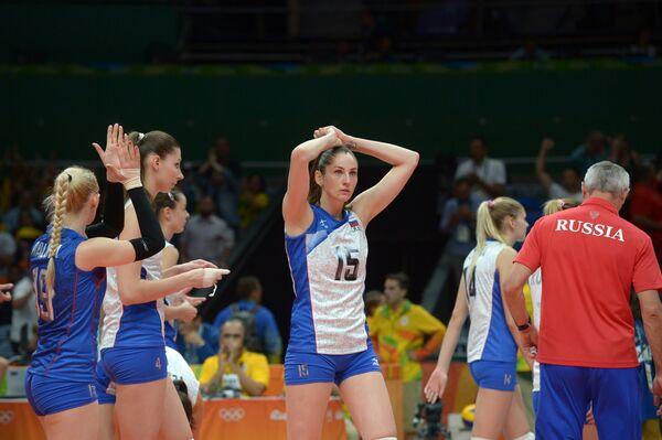 Волейолистки сборной России