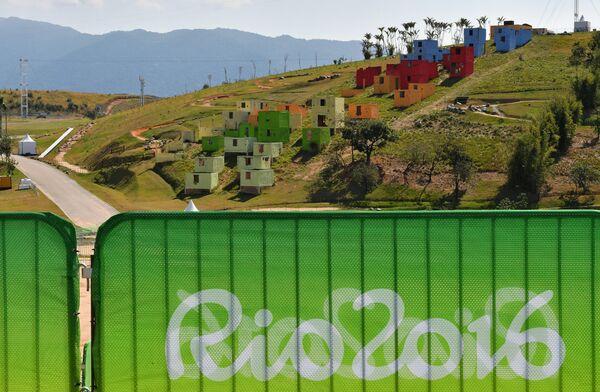 Трасса для маунтинбайка на Олимпийских играх в Рио-де-Жанейро
