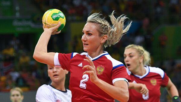 Гандболистка сборной России Полина Кузнецова