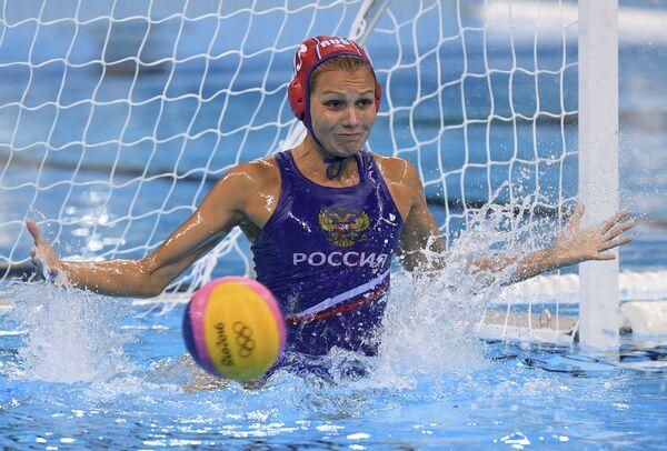 Игрок женской сборной России по водному поло Анна Карнаух
