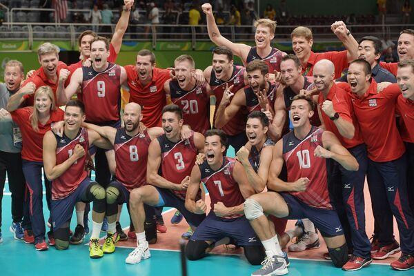 Игроки сборной США по волейболу