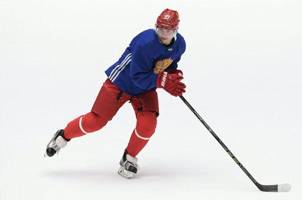 Нападающий сборной России по хоккею Артемий Панарин
